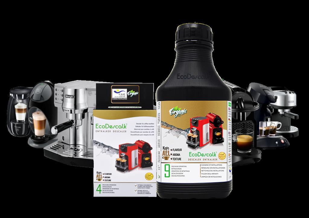 Descalcificador natural para cafeteras EcoDescalk Coffee